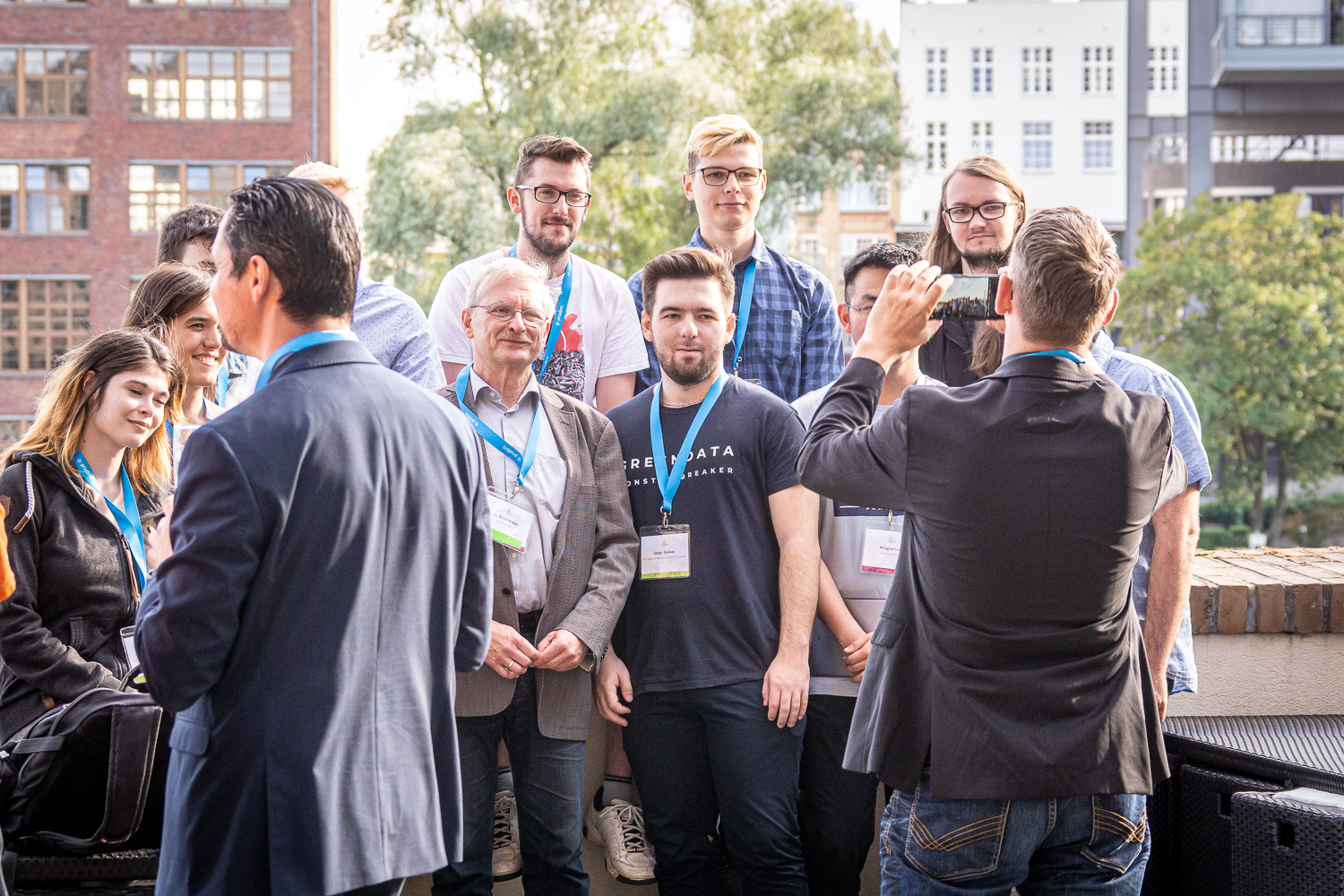prudsys retail intelligence summit 2019 | Conference on AI in Retail | Team pictures