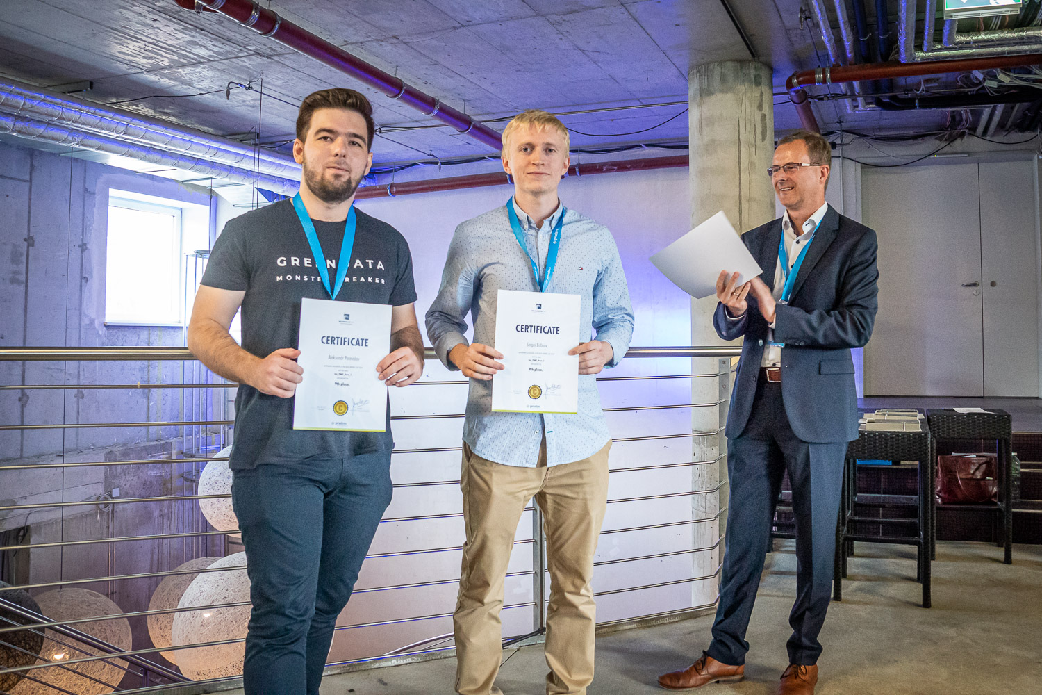 prudsys retail intelligence summit 2019 | Conference on AI in Retail | Awards and certificates