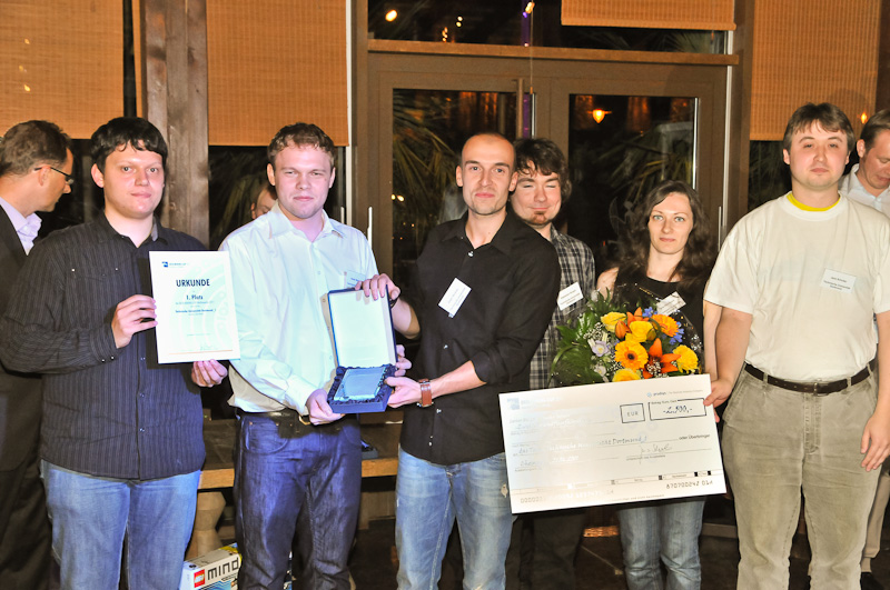 Winning team of DATA MINING CUP 2011