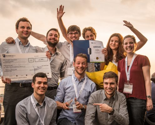 Winning team of DATA MINING CUP 2015 from HU Berlin