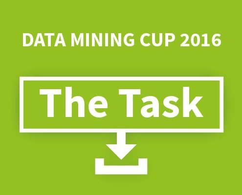 prudsys DATA MINING CUP 2016 task announced today