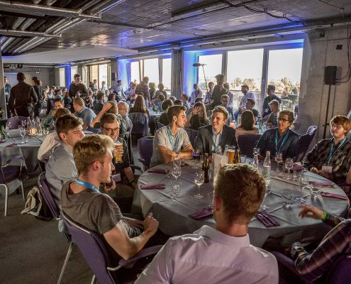 DATA MINING CUP 2017 Impressions - excitemant at the award ceremony