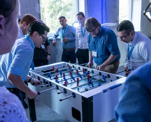 DATA MINING CUP 2017 Impressions - fun after award ceremony