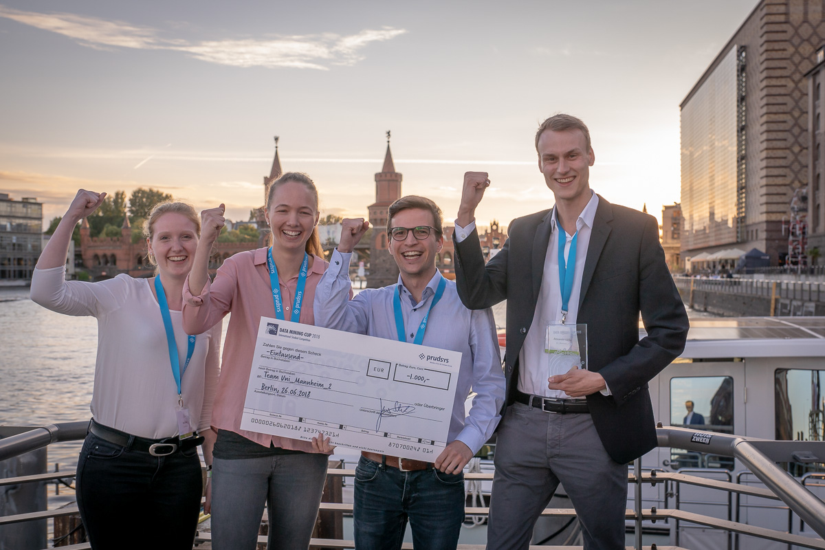 Second place of the DATA MINING CUP 2018