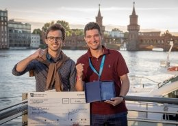 Winning team of the DATA MINING CUP 2018