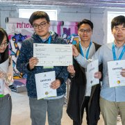 Winning team of the DATA MINING CUP 2019 from Iowa State University