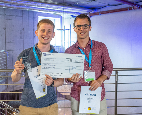 Second place of the DATA MINING CUP 2019 from University Geneva