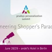 prudsys personalization summit 2016: Pioneering Shopper's Paradise